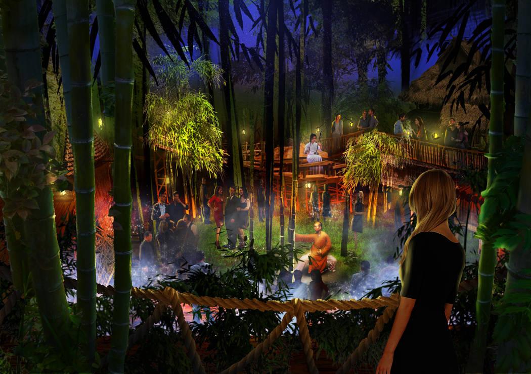 Parte de Kind Heaven contará con una sala arbolada y múltiples salas de música. La atracción se abre en The Linq Hotel en 2019. Kind Heaven
