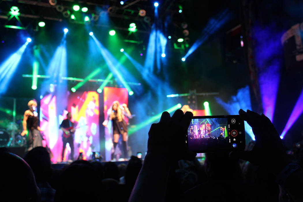 En Las Vegas cerraron su gira Así Somos. Domingo 18 de marzo del 2018 en HOB. Foto Cristian De la Rosa / El Tiempo - Contribuidor.