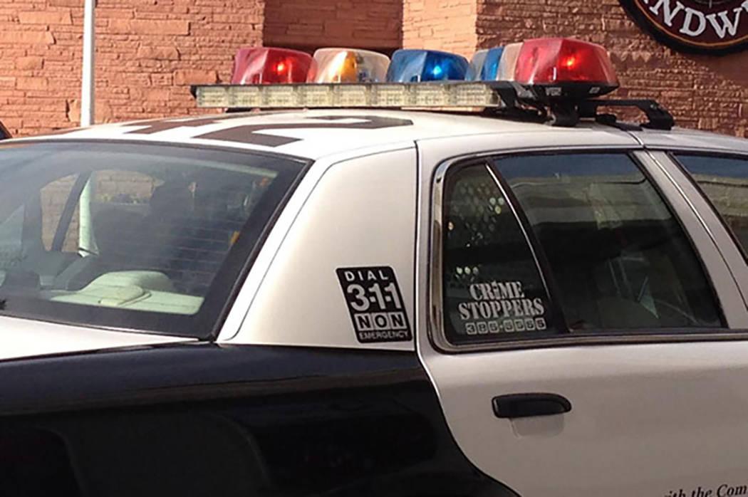 Policía Metropolitana de Las Vegas.