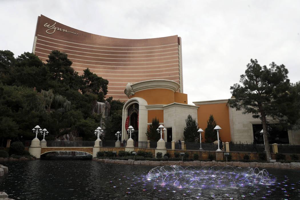 Wynn Las Vegas fotografiada en Las Vegas, el 19 de febrero de 2018. El estado de Oregón demandó al magnate de casinos de Nevada: Steve Wynn, y al consejo de administración de Wynn Resorts Ltd.  ...