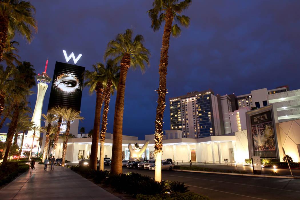 El SLS Las Vegas el martes 20 de marzo de 2018. (K.M. Cannon / Las Vegas Review-Journal) @KMCannonPhoto