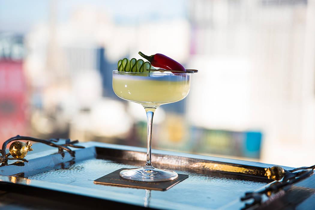Cóctel El Conquistador de Mandarin Bar (Ray Alamo)