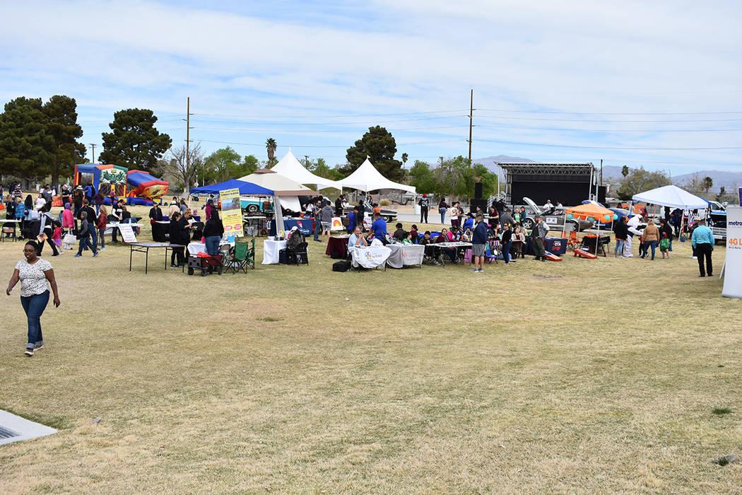 Organizaciones locales participaron en el evento exponiendo sus servicios. Sábado 24 de marzo de 2018 en parque Gary Reese Freedom. Foto Anthony Avellaneda / El Tiempo.