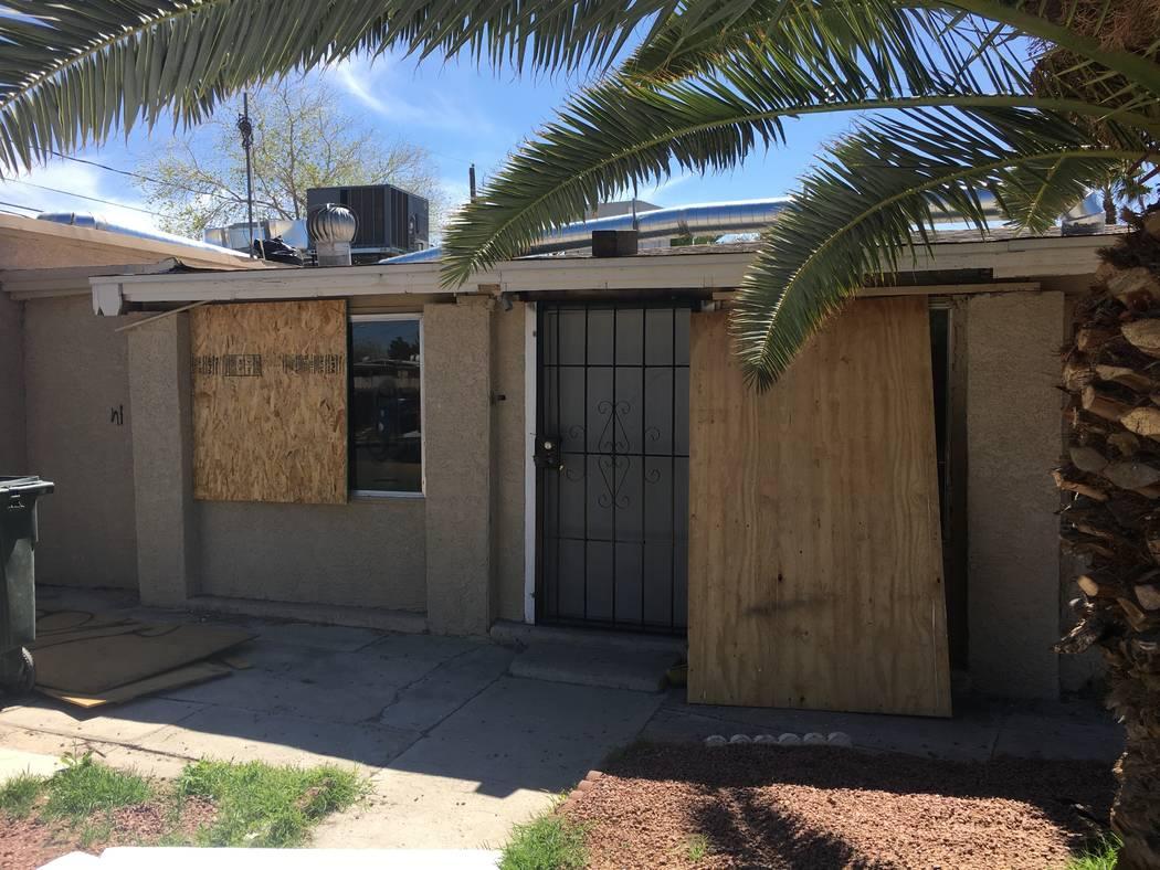 Esta casa en 2636 Magnet St. en North Las Vegas, vista el lunes 26 de marzo de 2018, ha aumentado en valor más de cinco veces desde la recesión. (Eli Segall / Las Vegas Review-Journal) @eli_segall