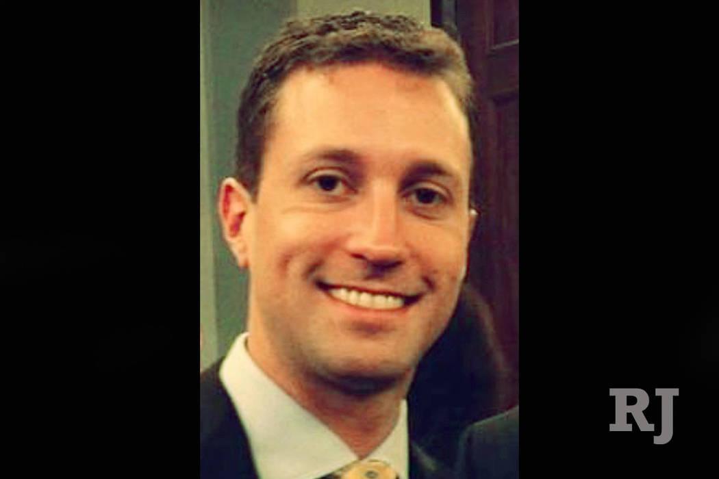 Consultor del GOP Benjamin Sparks (Foto obtenida por Las Vegas Review-Journal)