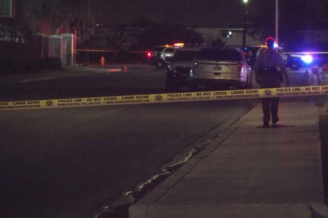 Se reportó un tiroteo alrededor de las 1:45 a.m. en McWilliams Avenue, cerca de Martin Luther King Boulevard y Bonanza Road, según la policía de Las Vegas.