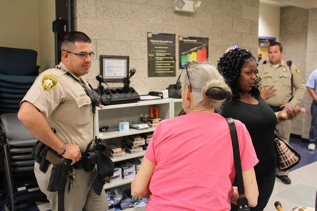 CERT se instruye a nivel nacional y en Nevada está desde 1999. Martes 3 de marzo del 2018. Policía Metropolitana, Centro. Foto Cristian De la Rosa / El Tiempo - Contribuidor.
