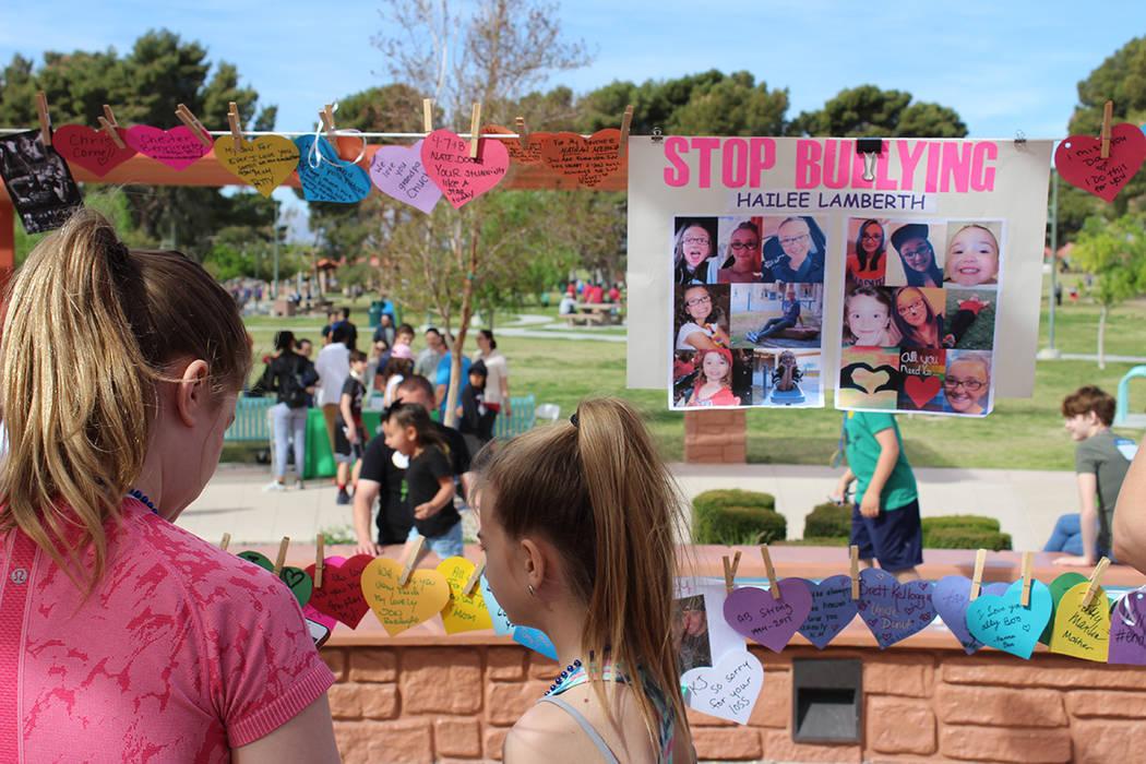 Cientos de familias acudieron a la caminata de AFSP. Sábado 7 de abril del 2018. Craig Ranch. Foto Cristian De la Rosa / El Tiempo - Contribuidor.