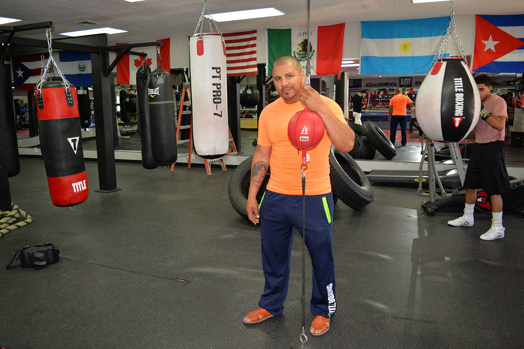 Fernando Vargas Fighting Foundation les da oportunidades a los niños, aunque no se conviertan en campeones del mundo. Sábado 7 de abril en el gimnasio de NLV. Foto El Tiempo.