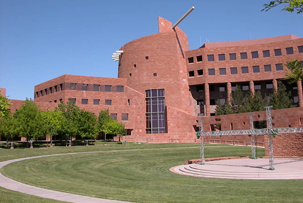 El campus del Clark County Government Center en South Grand Central Parkway en Las Vegas. (Archivo de Las Vegas Review-Journal)