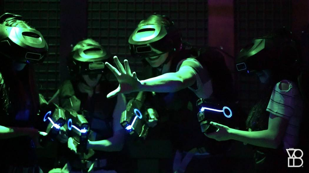 "A new ""Star Wars"" virtual reality attraction opens on the Las Vegas Strip later this month. The attraction will be inside the Grand Canal Shoppes at The Venetian and Palazzo. (The Void)"