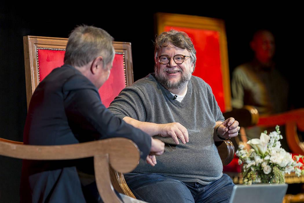 """ARCHIVO.- Guillermo del Toro, ganador del Oscar este año como Mejor Director y Mejor Película por """"La forma del agua"""", pidió a los jóvenes gestar ideas, crear con los recursos que se teng ..."""