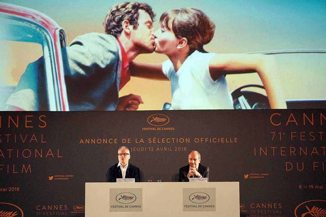 Ningún largometraje mexicano fue elegido en la primera selección de la competencia oficial de la 71 edición del Festival Internacional de cine de Cannes. En la imagen el delegado general del Fe ...