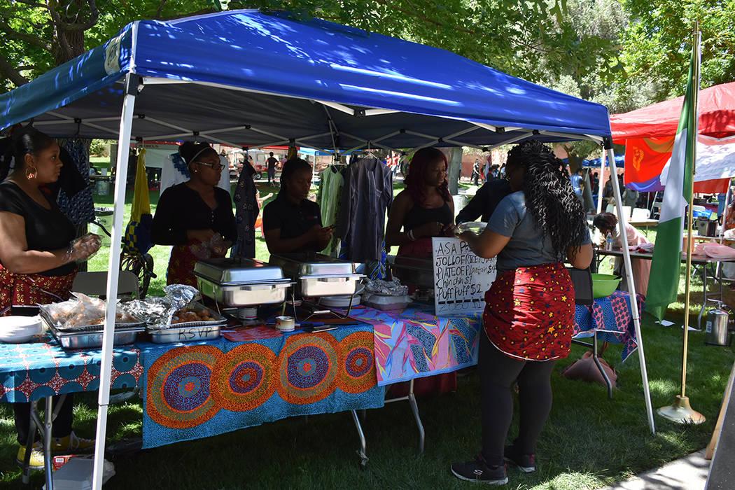 Estudiantes de UNLV celebraron la riqueza cultural de su escuela mediante el 'Festival de las Comunidades 2018'. Sábado 21 de abril de 2018 en UNLV. Foto Anthony Avellaneda / El Tiempo.