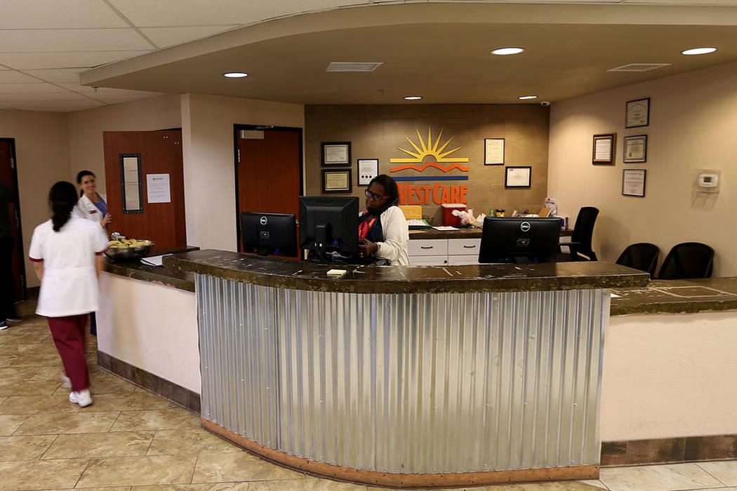 Centro de tratamiento de adicciones sin fines de lucro WestCare en 323 N. Maryland Pkwy. en el centro de Las Vegas el viernes 20 de abril de 2018. K.M. Cannon Las Vegas Review-Journal @KMCannonPhoto