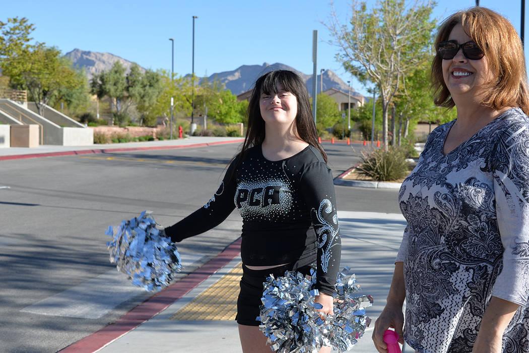 Randy Ann tiene 14 años de edad y tiene síndrome de Down. Sábado 21 de abril de 2018, en la escuela West Career Tech Academy. (Foto Frank Alejandre / Tiempo)