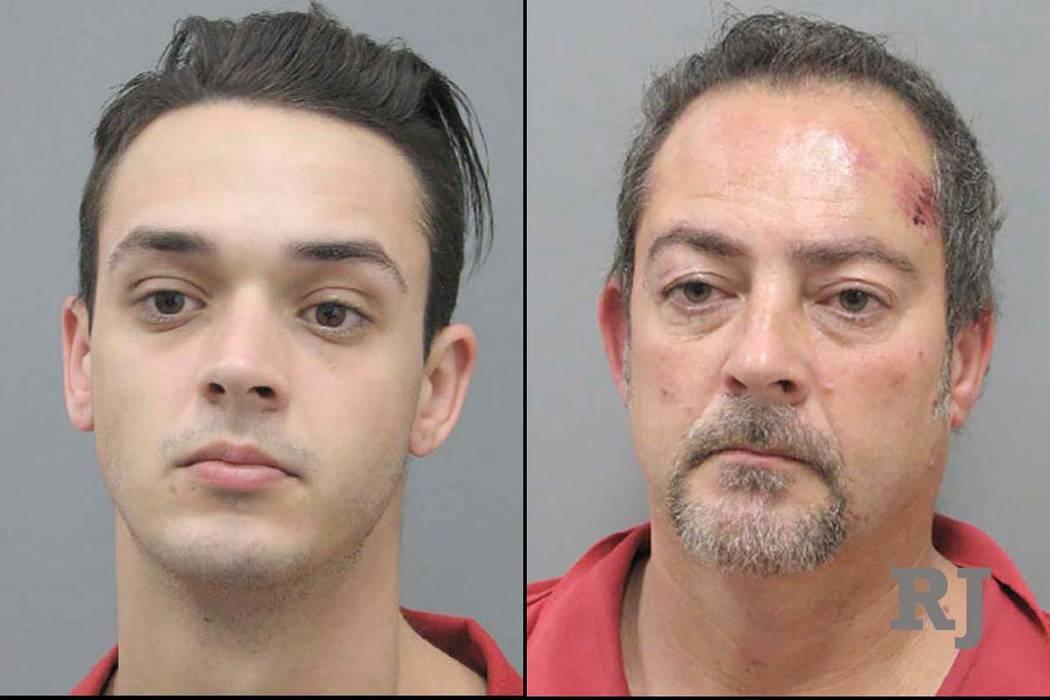 Jessy James, izquierda, y Jeffrey James (Departamento de Policía de Henderson)