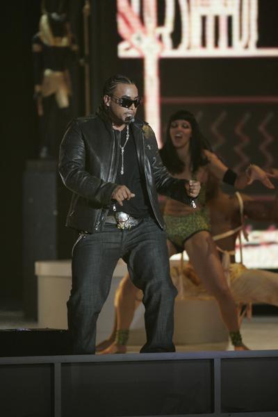 2007 Don Omar en Premios Billboard