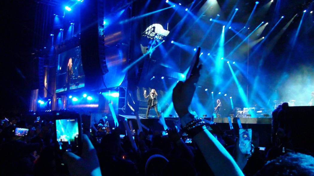 Archivo.- Maná durante una presentación en Rock in Rio USA en 2015. Foto Anthony Avellaneda / El Tiempo.