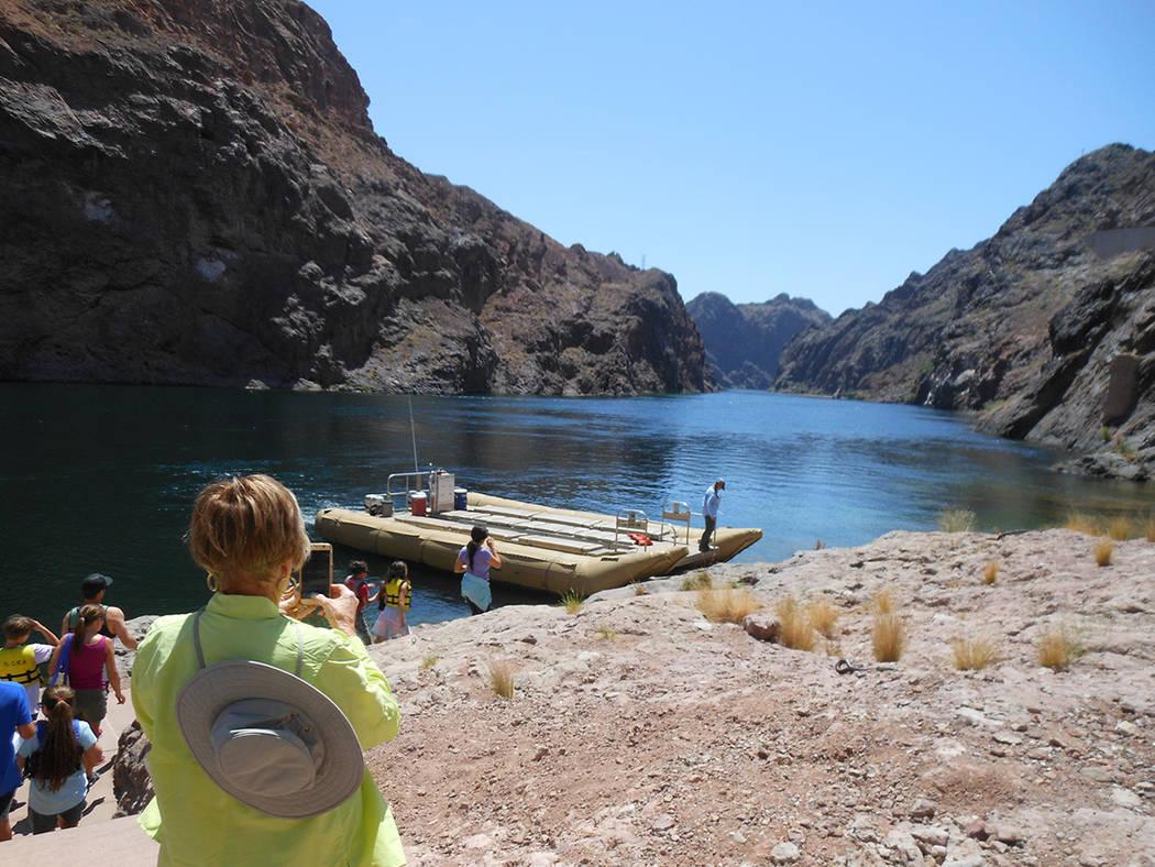 Este es Black Canyon River con vistas espectaculares el 29 de abril del 2018. Foto Valdemar González / El Tiempo - Contribuidor.