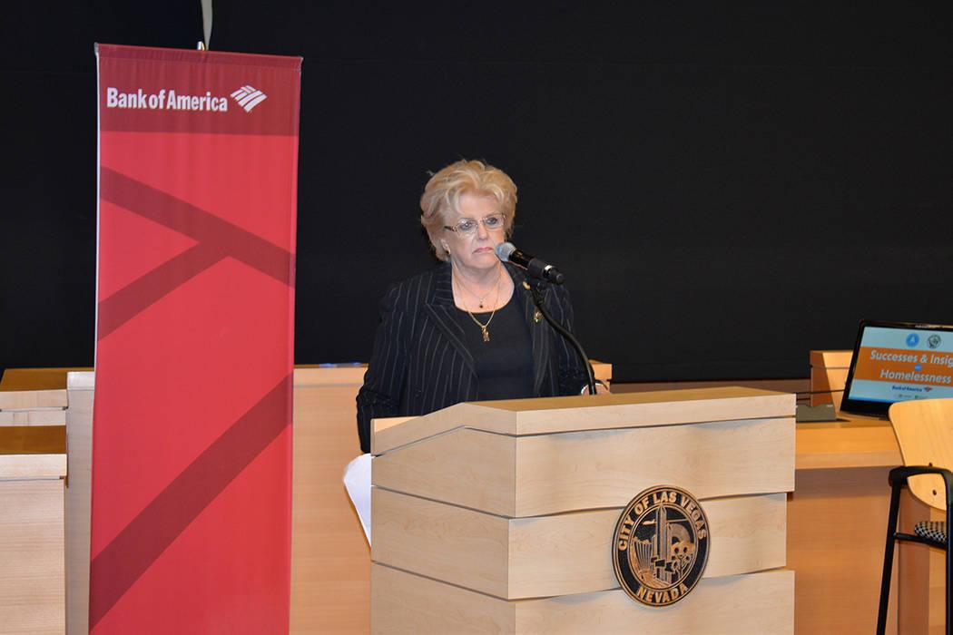 Carolyn G. Goodman, alcalde de Las Vegas. El jueves 3 de mayo de 2018 en el City Hall. Foto Frank Alejandre / El Tiempo.