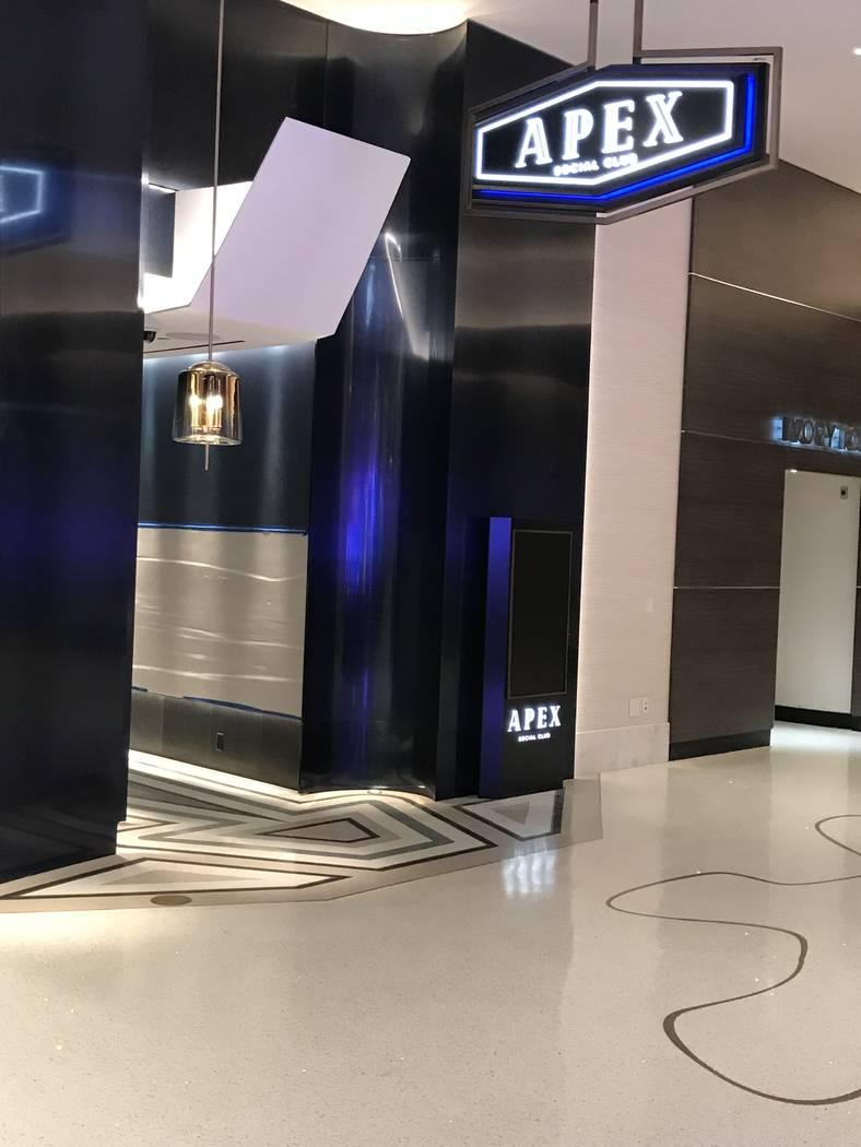 Apex Social Club, del mismo equipo que Camden, ocupará el antiguo espacio de la azotea Ghostbar. (Al Mancini Las Vegas Review-Journal)