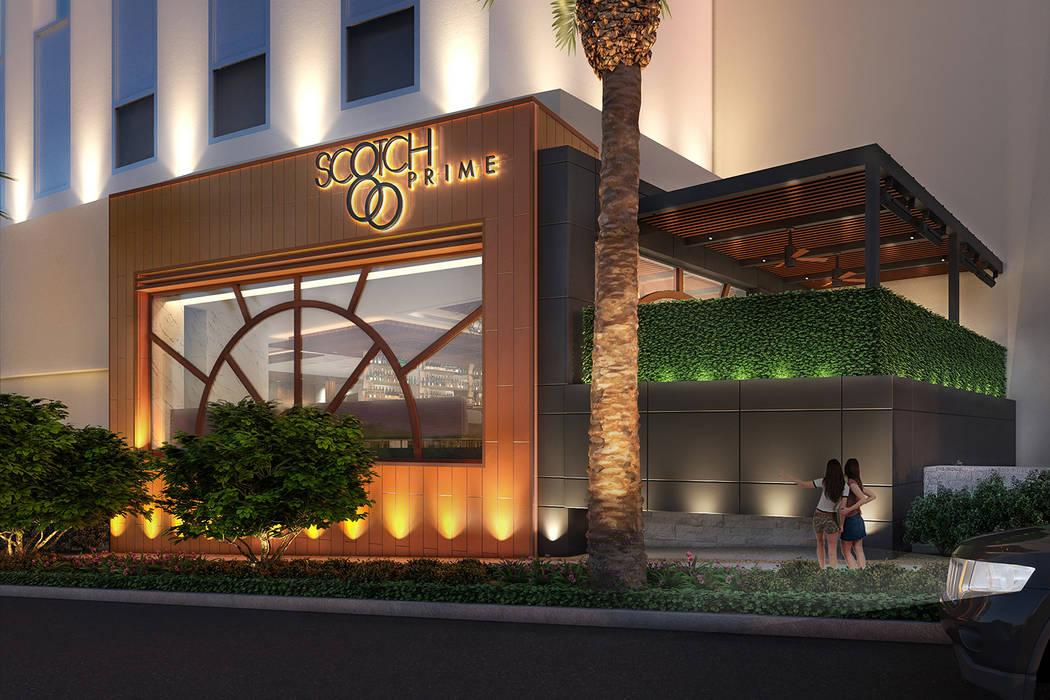 Scotch 80 Prime se abrirá en el espacio que anteriormente albergaba N9NE Steakhouse. (Al Mancini Las Vegas Review-Journal)