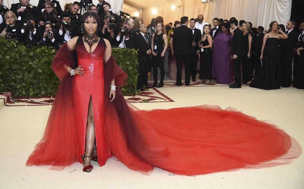 Nicki Minaj asiste a la gala del Costume Institute del Museo Metropolitano de Arte que celebra la apertura de la exposición Heavenly Bodies: Fashion y Catholic Imagination el lunes 7 de mayo de 2 ...
