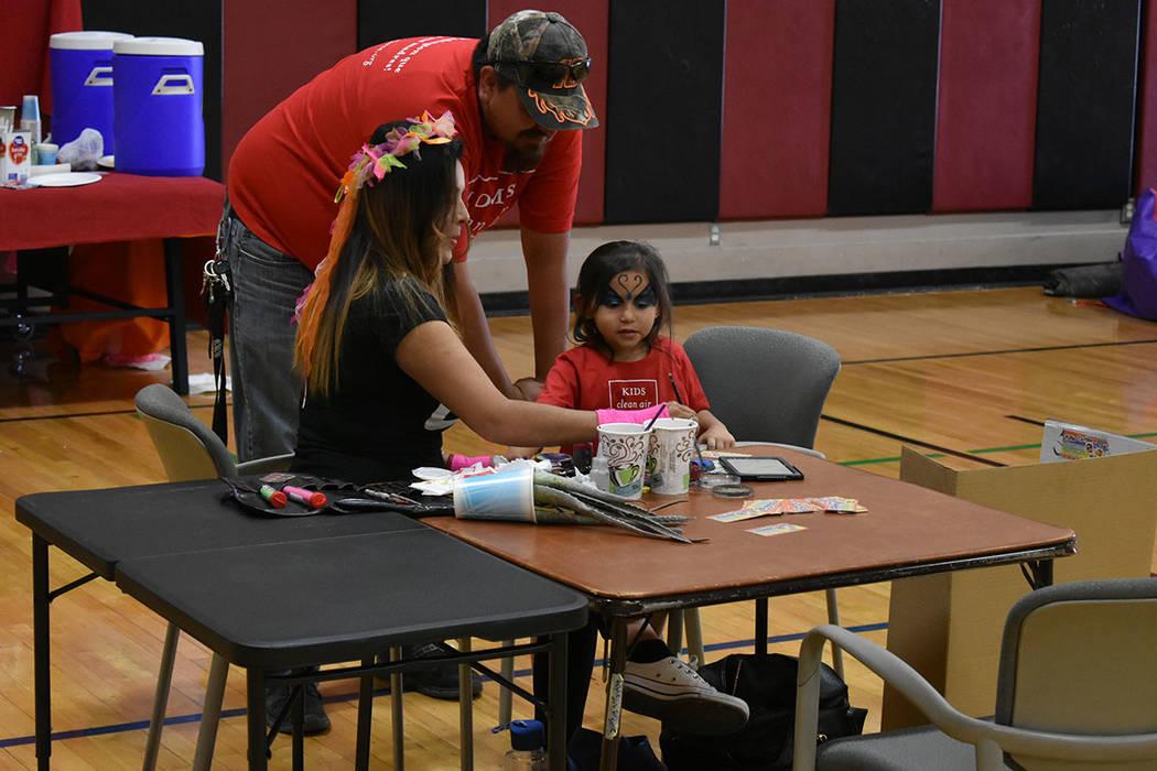 El evento contó con actividades interactivas para los niños. Sábado 12 de mayo de 2018 en Chuck Minker Sports Complex. Foto Anthony Avellaneda / El Tiempo.