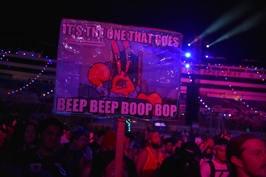 Música y espectáculos circenses fueron parte del atractivo de EDC 2018. Del 18 al 20 de mayo de 2018 en Autódromo de Las Vegas. Foto Anthony Avellaneda / El Tiempo.