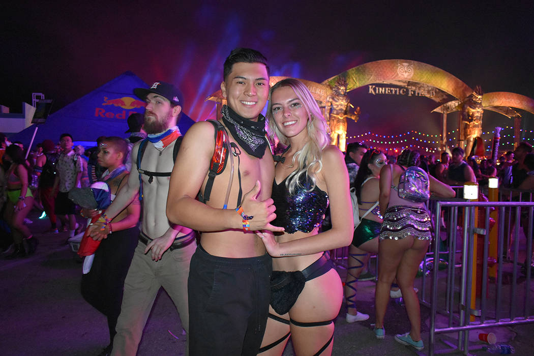 Tristan Gálvez y Paige Pabst celebraron juntos de un fin de semana electrizante. Del 18 al 20 de mayo de 2018 en Autódromo de Las Vegas. Foto Anthony Avellaneda / El Tiempo.