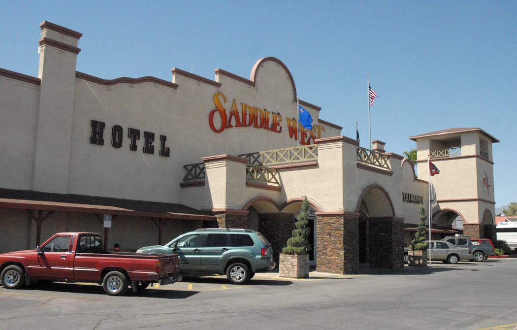 Hotel y Casino Saddle West Horace Langford Jr. / Pahrump Valley Times