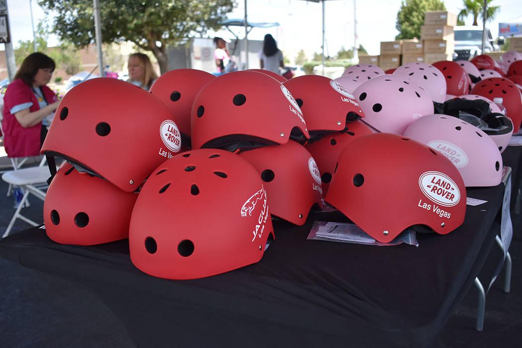 El objetivo del evento fue incentivar la importancia de usar casco al viajar en bicicleta. Sábado 19 de mayo de 2018 en hospital Mountain View. Foto Anthony Avellaneda / El Tiempo.