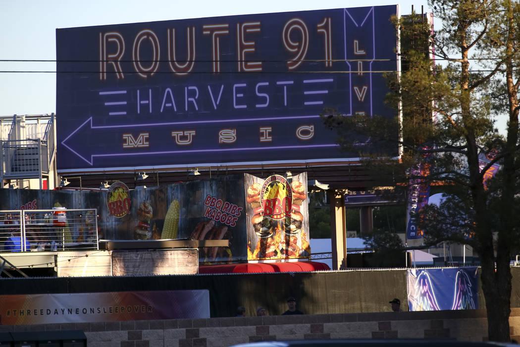 Escenas del 2 de octubre de 2017, el día después del tiroteo del festival Route 91 Harvest en Las Vegas. Richard Brian / Las Vegas Review-Journal
