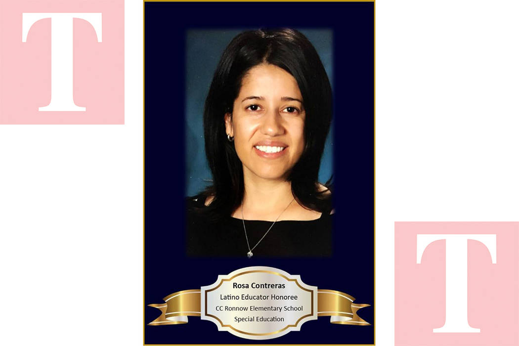 Rosa Alicia Contreras, profesora de Educación Especial, nació en Zacatecas, México. Foto Cortesía.