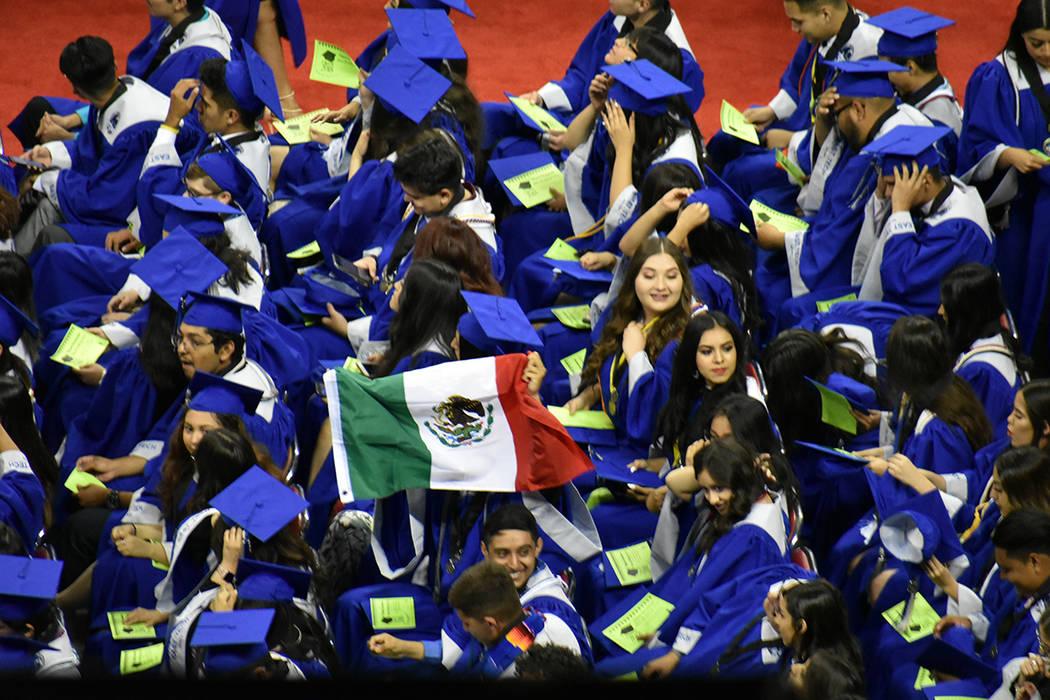 El Baccalaureate Hispano es un evento anual organizado por la Asociación de Educadores Hispanos de Nevada. 27 de mayo de 2018 en Thomas & Mack Center. Foto Anthony Avellaneda / El Tiempo.
