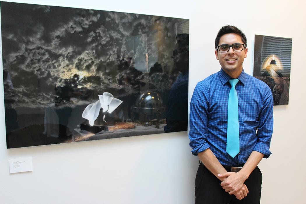 Brian Rodríguez, obtuvo el primer lugar en la categoría Abstracta y Artística. Jueves 31 de mayo de 2018. Las Vegas High School, sede original, ahora monumento histórico, ubicado en la calle 5 ...