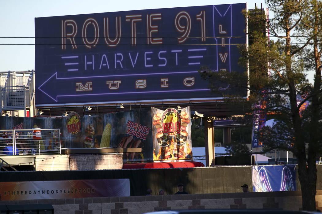 Escenas del 2 de octubre de 2017, el día después del tiroteo del festival Route 91 Harvest en Las Vegas. Richard Brian
