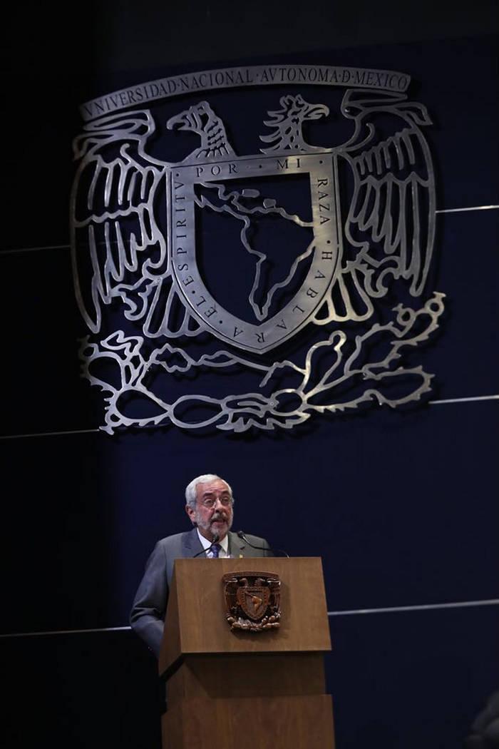 Archivo. México,10 Abr 2018 (Notimex- Especial).- Enrique Graue Wierchers, Rector de la UNAM participó en la inauguración del Foro México 2018: los desafíos de la nación.