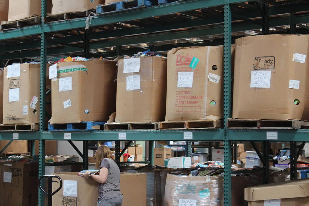 Desde el año 2001 hasta la fecha, han recibido y donado cerca de 4.5 millones de libros. Viernes 8 de junio de 2018, en Henderson. Foto Cristian De la Rosa / El Tiempo - Contribuidor.