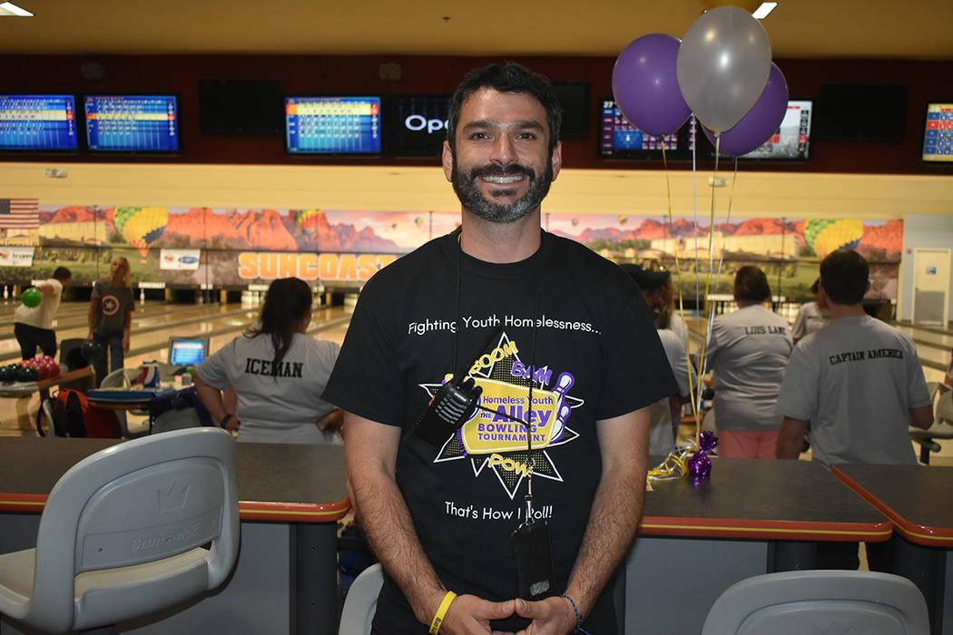 """""""En nuestra comunidad tenemos uno de los problemas más grandes de niños sin hogar en todo Estados Unidos"""": Arash Ghafoori, director ejecutivo de NPHY. Sábado 9 de junio de 2018 en hotel y c ..."""