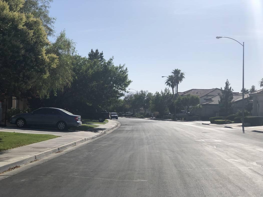 Matthew Minkler, de 17 años, fue encontrado muerto dentro de una casa abandonada en la cuadra 2000 de Cool Lilac Avenue el viernes 8 de junio de 2018. (Rio Lacanlale / Las Vegas Review-Journal)