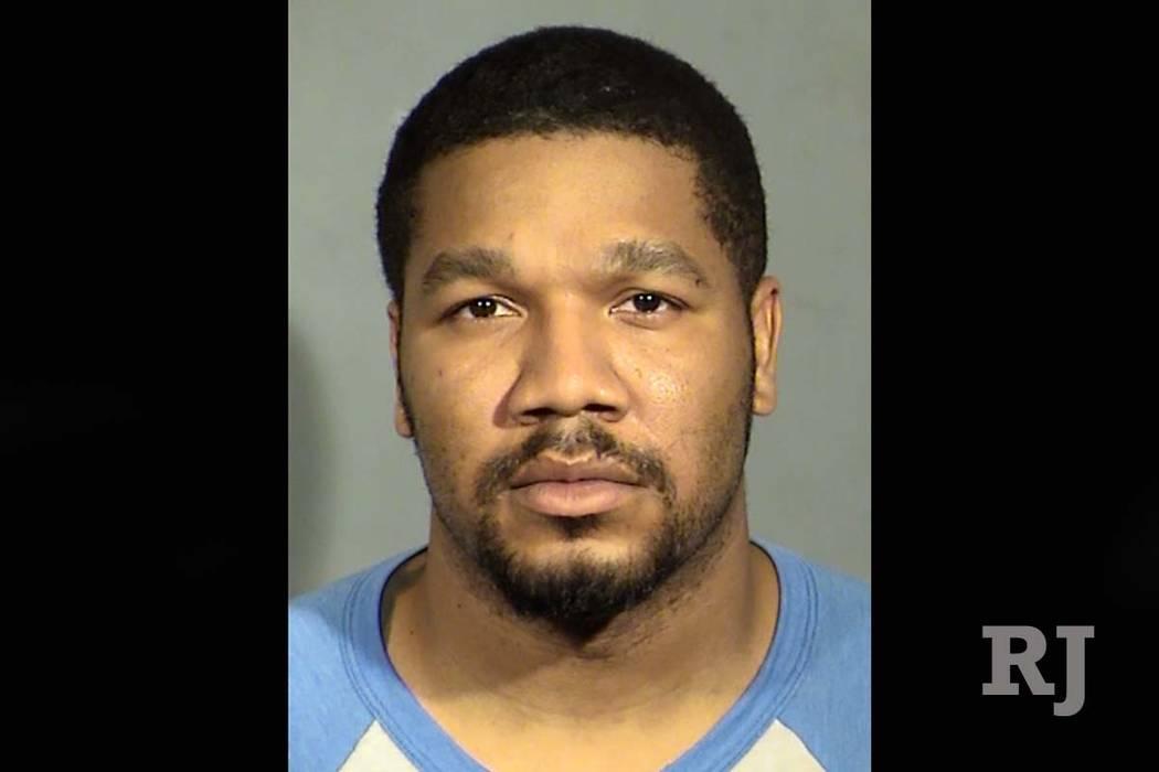 Julius Trotter aparece en una foto de arresto de febrero de 2017. (Departamento de Policía Metropolitana de Las Vegas)