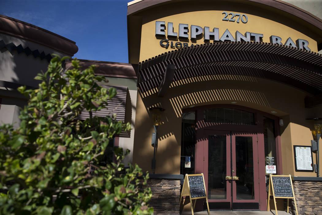 Elephant Bar at The District en Green Valley Ranch en Henderson, miércoles, 8 de noviembre de 2017. Elephant Bar se declaró en bancarrota en un tribunal de Las Vegas. Erik Verduzco Las Vegas Rev ...