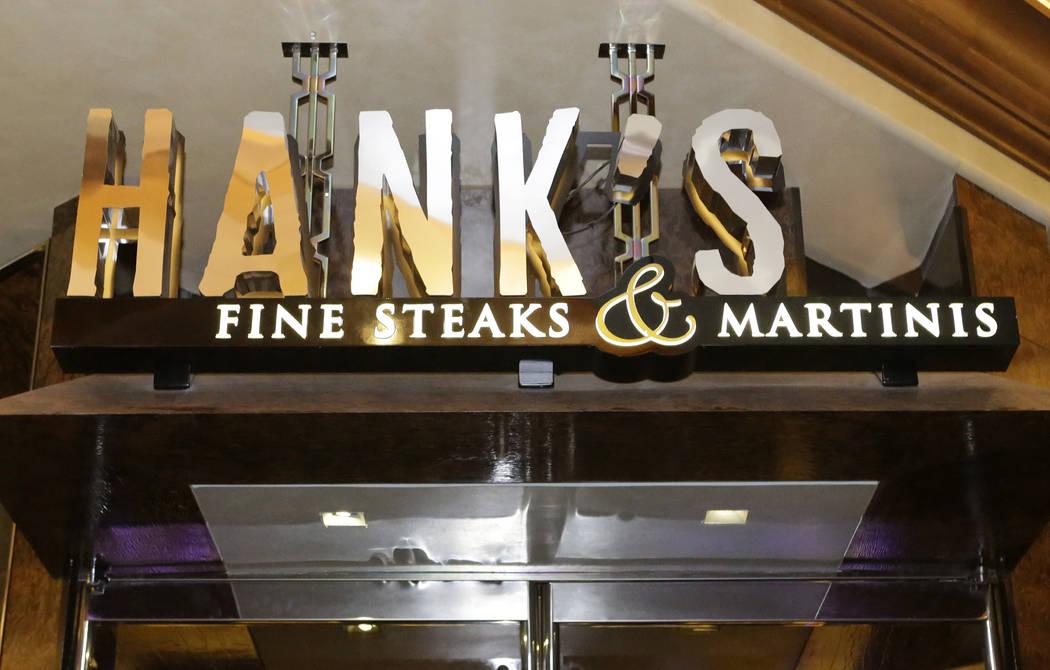 Hank's Fine Steaks y Martinis se pueden ver en Green Valley Ranch el viernes 14 de octubre de 2016 en Henderson. Bizuayehu Tesfaye / Las Vegas Review-Journal Sigue a @bizutesfaye