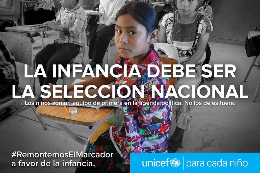 México, 14 Jun 2018 (Notimex-Especial).- En el marco de la copa mundial del fútbol el Fondo de las Naciones Unidas para la Infancia, realiza la campaña Remontemos el Marcador, con la que se pre ...
