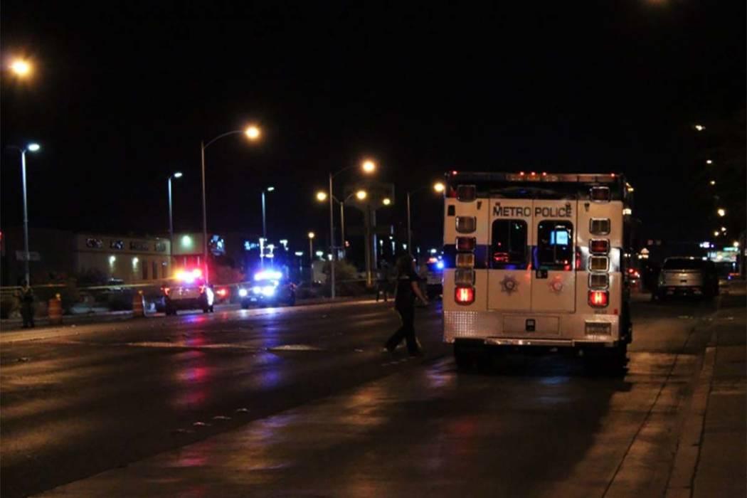 Un hombre fue apuñalado hasta la muerte el domingo 17 de junio de 2018 en un centro comercial ubicado en 2797 S. Maryland Parkway. (Diario de revisión de Max Michor / Las Vegas)