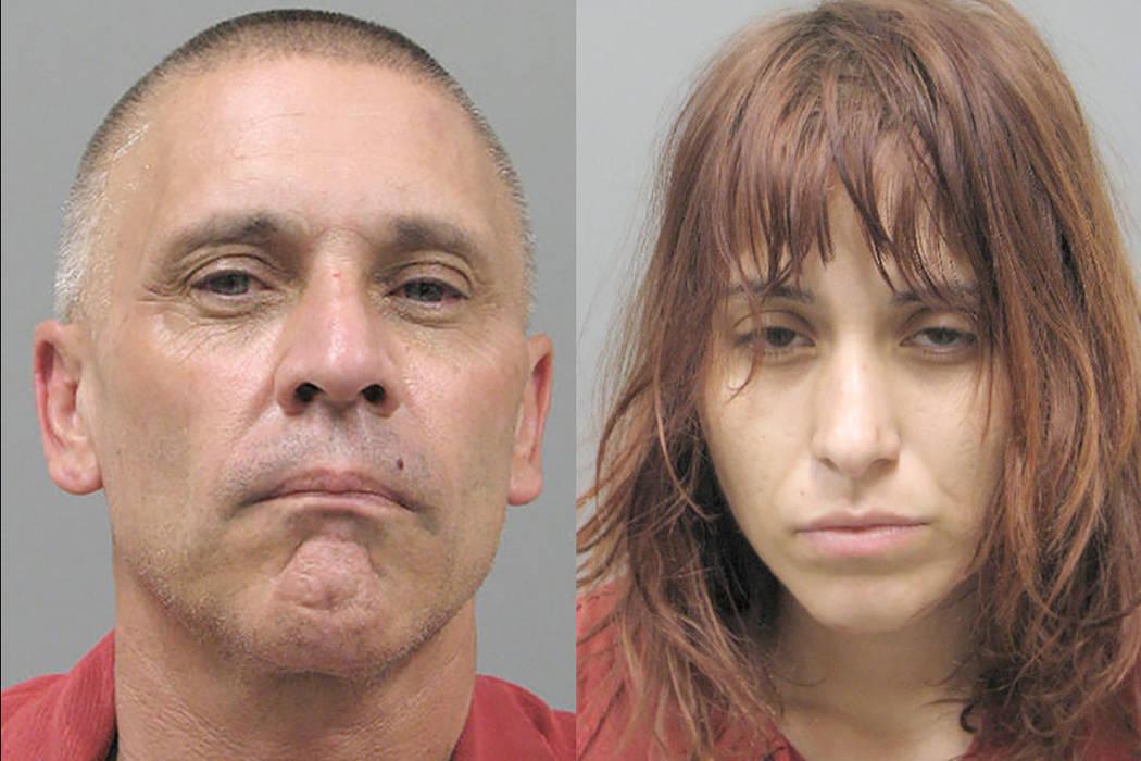 Kenneth McDougall, 50, y Jesenia Guerrero, 25 (Departamento de Policía de Henderson)