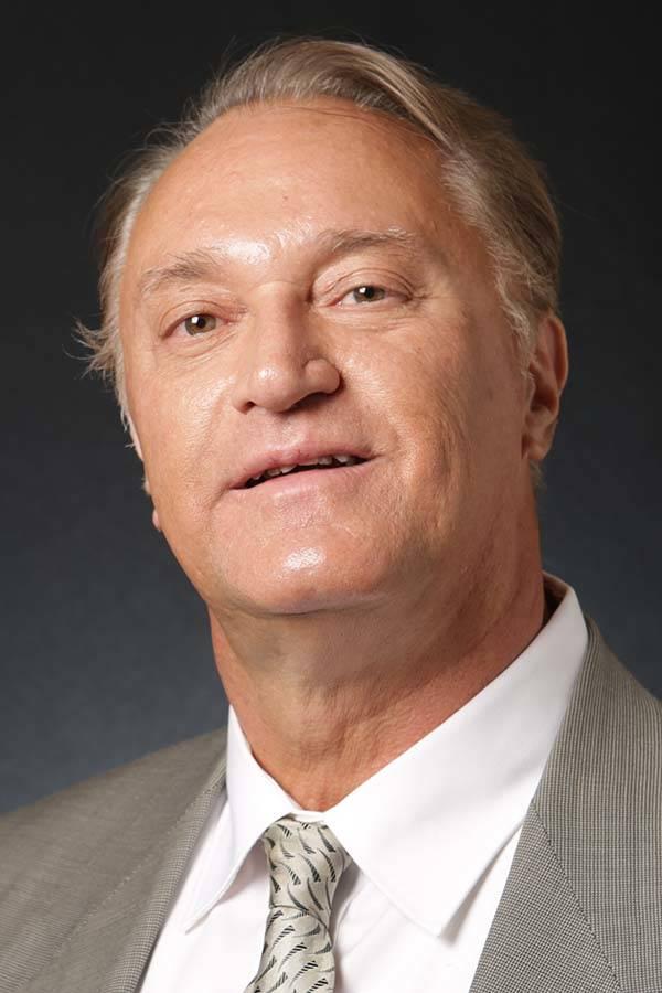 Thomas Fougere, candidato republicano para el Administrador Público del Condado de Clark, es fotografiado en las oficinas del Las Vegas Review-Journal el martes 8 de mayo de 2018. Michael Quine / ...