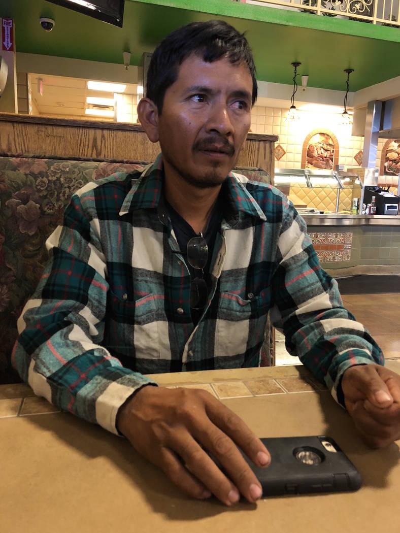 Germán Martín dijo estar indeciso por quién votar en las elecciones presidenciales de México. El 19 de junio de 2018, en Las Vegas. Foto Valdemar González / El Tiempo - Contribuidor.